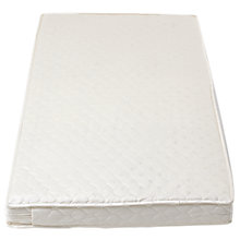 Buy John Lewis Coir Spring Large Cotbed Mattress, L132 x W77cm Online at johnlewis.com