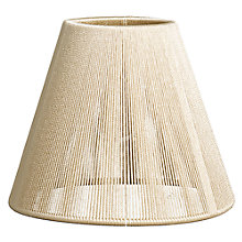 Buy John Lewis String Candle Shade, Gold Online at johnlewis.com