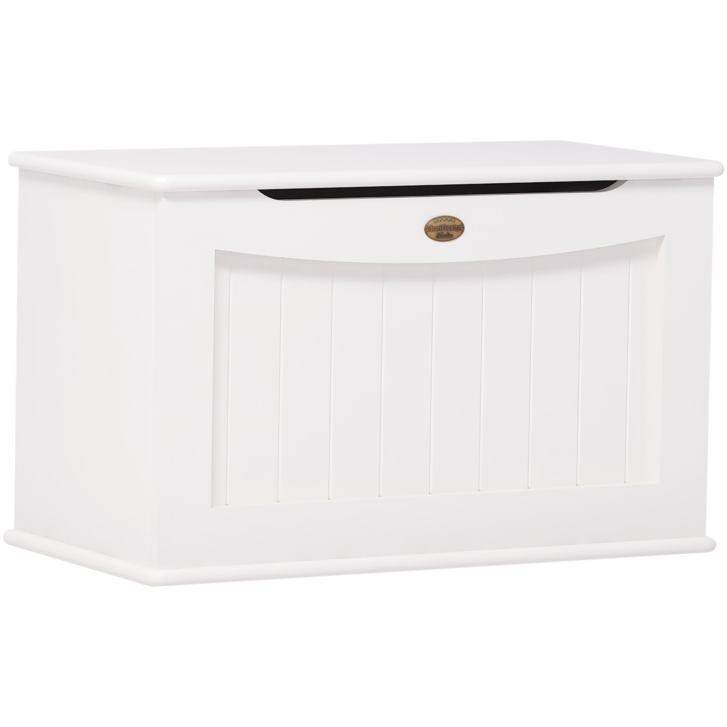 Boori Boori Toy Box, White