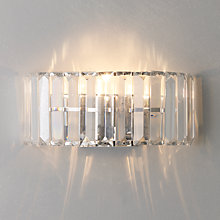 Buy John Lewis Frieda Wall Light, Smoke Online at johnlewis.com