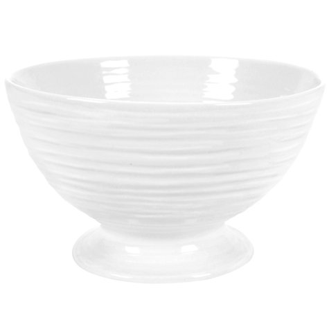 Buy Sophie Conran for Portmeirion Small Footed Bowl, White, Dia.14cm Online at johnlewis.com