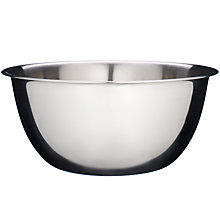 Buy John Lewis Stainless Steel Mixing Bowl, 5L Online at johnlewis.com