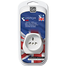 Buy Go Travel Visitor UK Adaptor Online at johnlewis.com