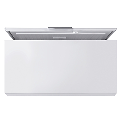 John Lewis JLCH400 Chest Freezer, A+ Energy Rating, 134cm Wide, White