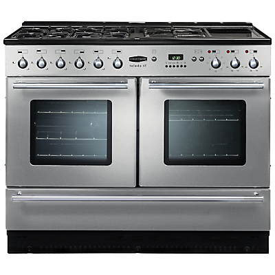 best stainless steel dual fuel cooker prices in cookers. Black Bedroom Furniture Sets. Home Design Ideas