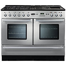Buy Rangemaster Toledo 110XT Dual Fuel Range Cooker, Stainless Steel Online at johnlewis.com