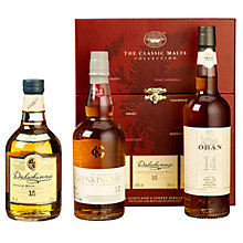 Buy Classic Malts Gift Set, 3x 20cl Online at johnlewis.com