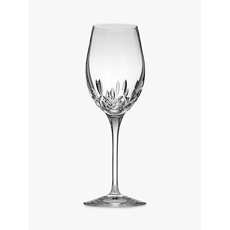 Buy Waterford Crystal Lismore Essence White Wine Glasses, Set of 2 Online at johnlewis.com