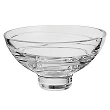 Buy Waterford Crystal Jasper Conran Aura Footed Bowl, Dia.15cm Online at johnlewis.com