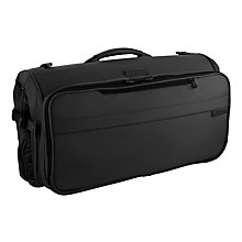 Buy Briggs & Riley Compact Suit and Garment Bag, Black Online at johnlewis.com