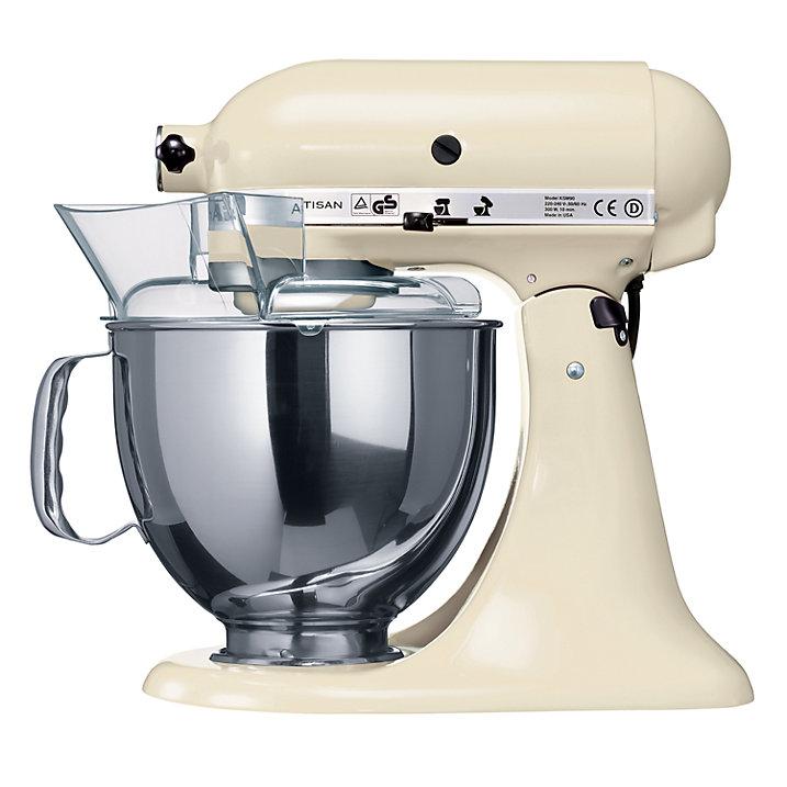 Robot da cucina kitchenaid artisan modello iksm150psc for Pentole kitchenaid