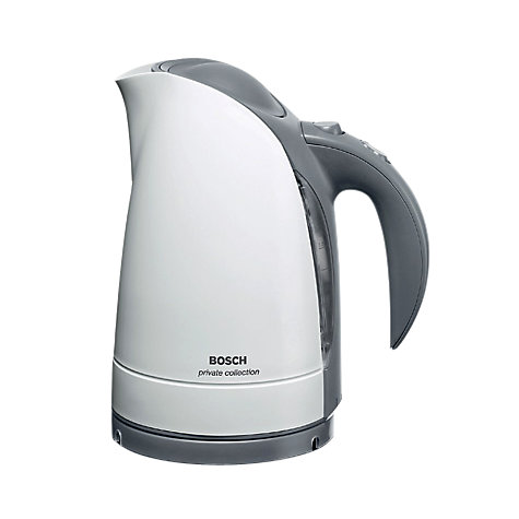 Buy Bosch Private Collection TWK6031GB Kettle and TAT6101GB Toaster, White Online at johnlewis.com