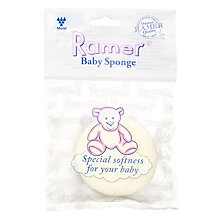 Buy Ramer Baby Sponge, Yellow Online at johnlewis.com