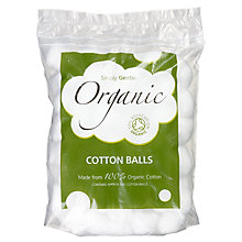 Buy Simply Gentle Organic Cotton Wool Balls, Pack of 100 Online at johnlewis.com