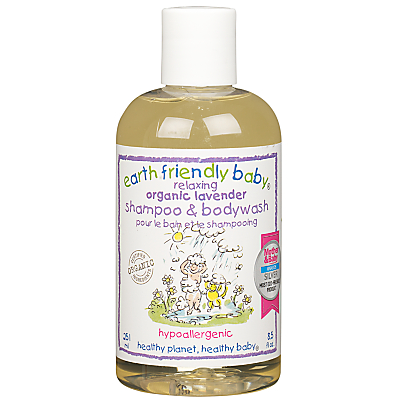 Earth Friendly Baby Lavender Shampoo and Bodywash, 251ml