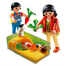 Buy Playmobil Guinea Pig Pen Online at johnlewis.com