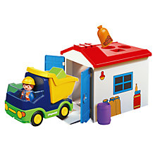Buy Playmobil 123 Truck and Garage Online at johnlewis.com
