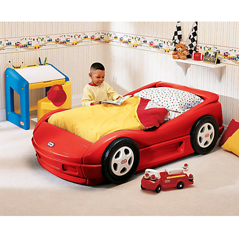 Buy Little Tikes Roadster Toddler Bed, Red Online at johnlewis.com