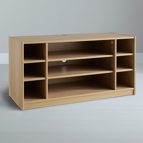 Buy John Lewis Agatha Media Unit, Oak Online at johnlewis.com