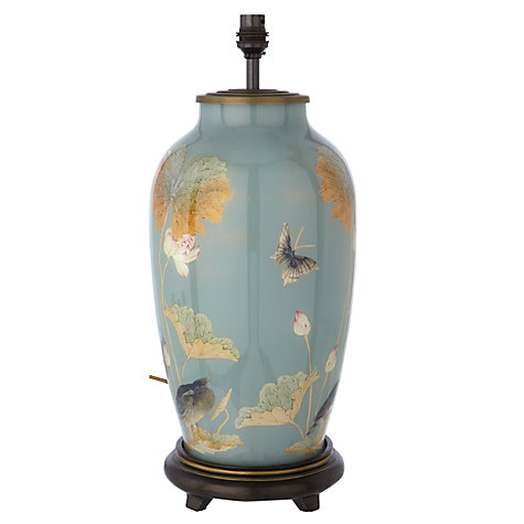 Buy Jenny Worrall Chinese Heron Glass Lamp Base Online at johnlewis.com
