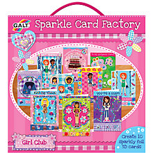 Buy Galt Sparkle Card Factory Online at johnlewis.com