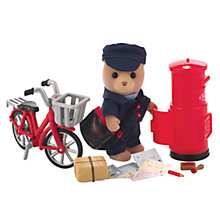 Buy Sylvanian Families Village Postman Set Online at johnlewis.com