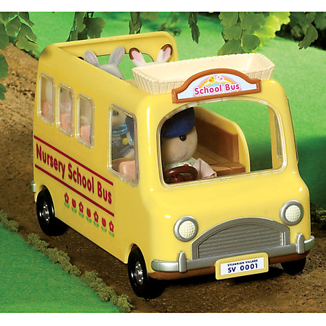 Buy Sylvanian Families Nursery School Bus Online at johnlewis.com