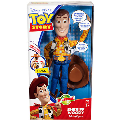 Buy Toy Story 3 Talking Sheriff Woody Online at johnlewis.com
