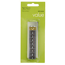 Buy John Lewis Value Non-Stretch Tape Measure Online at johnlewis.com