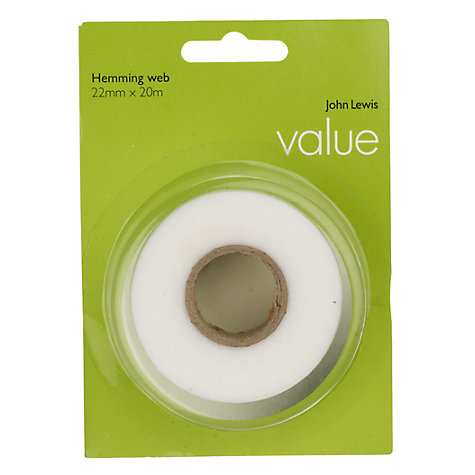 Buy John Lewis The Basics Iron-On Hemming Tape Online at johnlewis.com