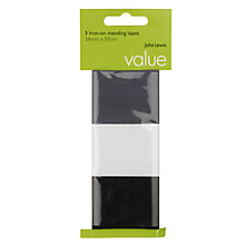 Buy John Lewis Value Iron-On Mending Tape Online at johnlewis.com
