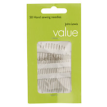 Buy John Lewis The Basics Hand Sewing Needles Online at johnlewis.com