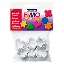 Buy FIMO Metal Shape Cutters, Pack of 6 Online at johnlewis.com