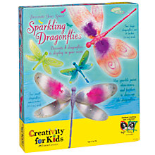 Buy Creativity for Kids Sparkling Dragonflies Online at johnlewis.com
