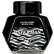 Buy Waterman Bottled Ink, 50ml Online at johnlewis.com