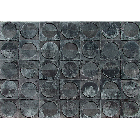 Buy Shearling Lunar Sheepskin Rug, Charcoal, L170 x W240cm Online at johnlewis.com