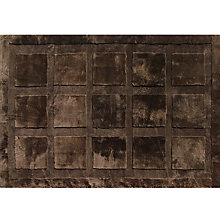 Buy Shearling Squares Sheepskin Rug, Coffee, L170 x W240cm Online at johnlewis.com