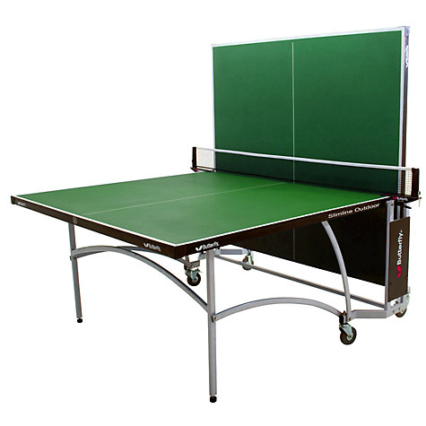 Buy Butterfly Slimline Outdoor Table Tennis Table, Green Online at johnlewis.com