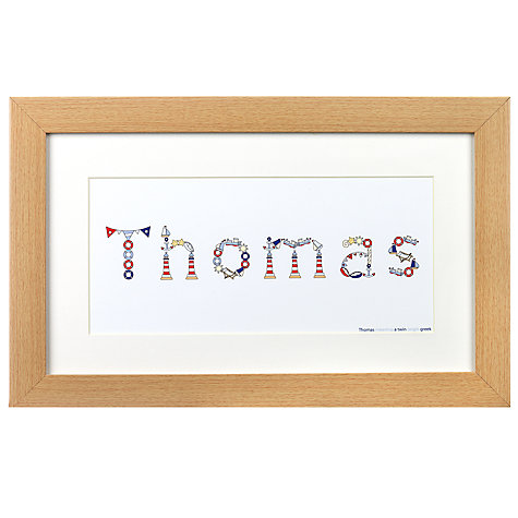Buy JG Artwork Range Nautical Framed Art Online at johnlewis.com