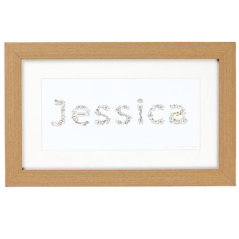 Buy JG Artwork Range Christening Framed Art Online at johnlewis.com
