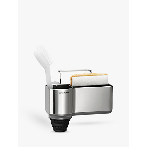 Buy simplehuman Sink Caddy, Stainless Steel Online at johnlewis.com
