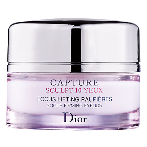 Buy Dior Capture Sculpt 10 Eye Cream, 15ml Online at johnlewis.com