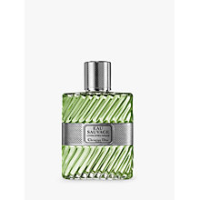 Buy Dior Eau Sauvage Aftershave Lotion, 100ml Online at johnlewis.com