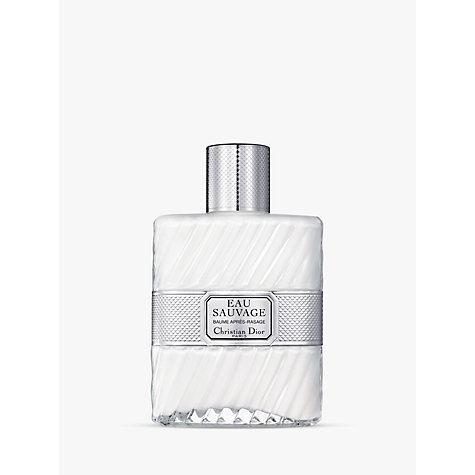 Buy Dior Eau Sauvage After Shave Balm, 100ml Online at johnlewis.com