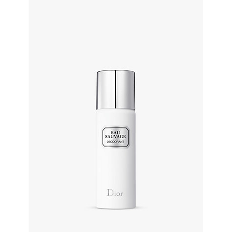 Buy Dior Eau Sauvage Deodorant Spray, 150ml Online at johnlewis.com