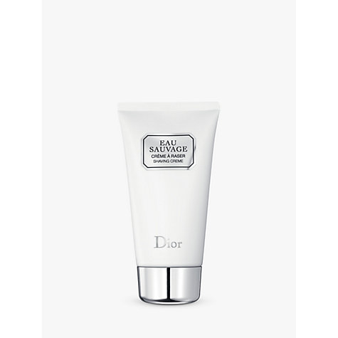 Buy Dior Eau Sauvage Shaving Cream, 125ml Online at johnlewis.com