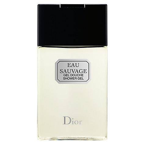 Buy Dior Eau Sauvage Shower Gel, 150ml Online at johnlewis.com
