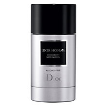 Buy Dior Homme Alcohol Free Deodorant Stick, 75ml Online at johnlewis.com
