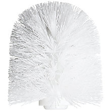 Buy John Lewis York Spare Toilet Brush Head, White Online at johnlewis.com