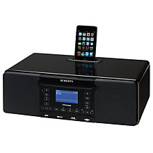 Buy ROBERTS STREAM 63i DAB Internet Radio/CD and iPod Dock Online at johnlewis.com